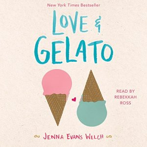 Love & Gelato audiobook cover art