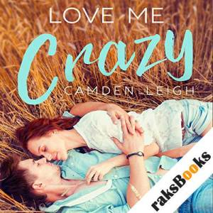 Love Me Crazy audiobook cover art