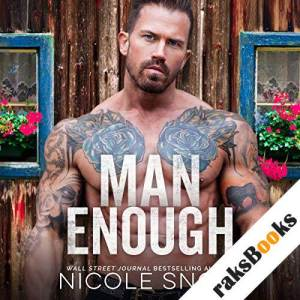 Man Enough audiobook cover art