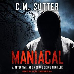 Maniacal audiobook cover art