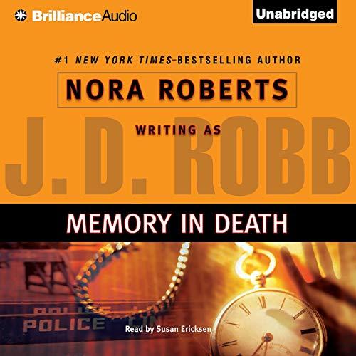 Memory in Death audiobook cover art