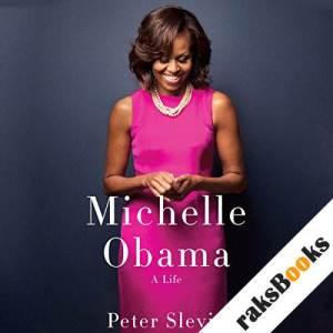 Michelle Obama audiobook cover art