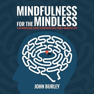 Mindfulness for the Mindless: A No Nonsense Guide to Breaking Free from a Mindless Life audiobook cover art