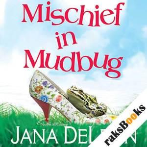 Mischief in Mudbug audiobook cover art