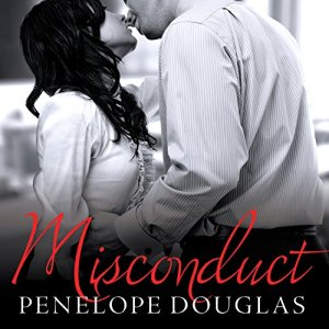 Misconduct audiobook cover art