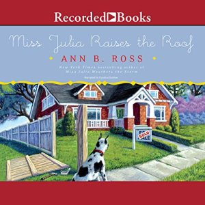 Miss Julia Raises the Roof audiobook cover art
