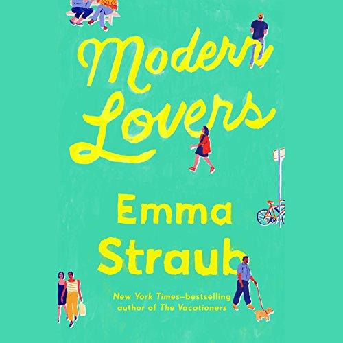 Modern Lovers audiobook cover art