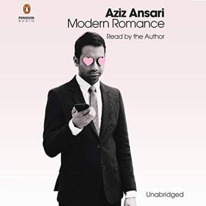 Modern Romance audiobook cover art