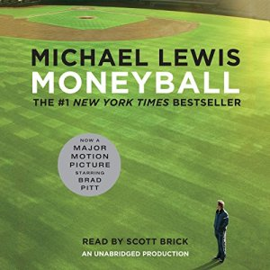 Moneyball audiobook cover art