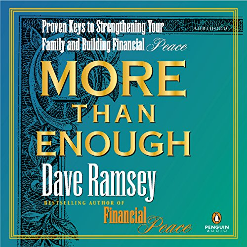More Than Enough audiobook cover art