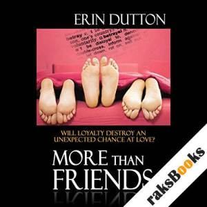 More Than Friends audiobook cover art