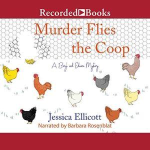 Murder Flies the Coop audiobook cover art