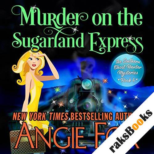 Murder on the Sugarland Express audiobook cover art