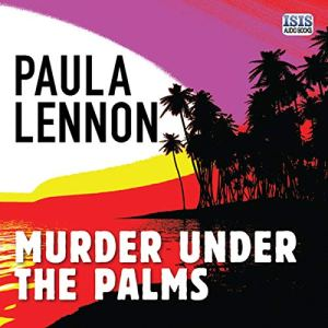 Murder Under the Palms audiobook cover art