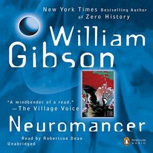 Neuromancer audiobook cover art