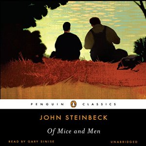 Of Mice and Men audiobook cover art