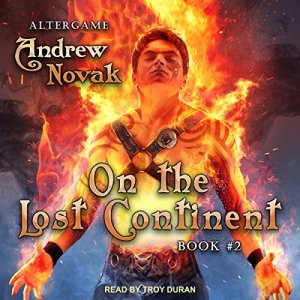 On the Lost Continent audiobook cover art