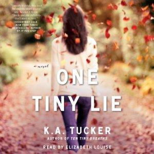 One Tiny Lie audiobook cover art