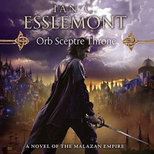 Orb Sceptre Throne audiobook cover art