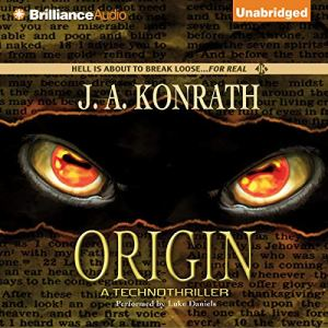 Origin audiobook cover art