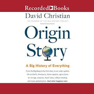 Origin Story audiobook cover art