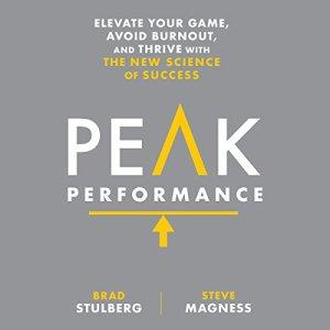 Peak Performance audiobook cover art
