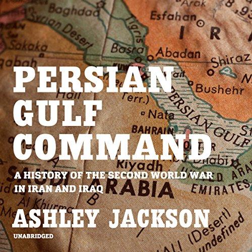 Persian Gulf Command audiobook cover art