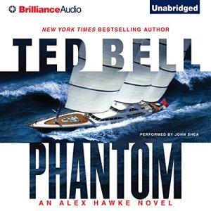 Phantom audiobook cover art