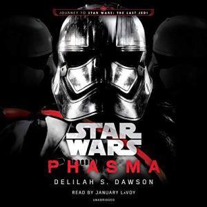 Phasma: Star Wars audiobook cover art