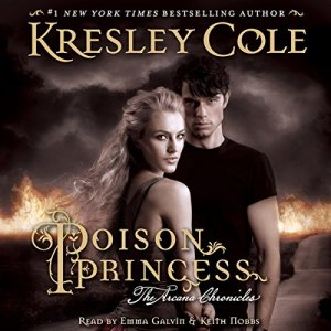 Poison Princess audiobook cover art
