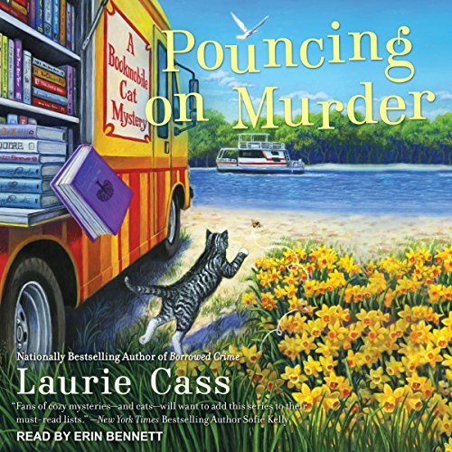 Pouncing on Murder audiobook cover art