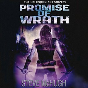 Promise of Wrath audiobook cover art
