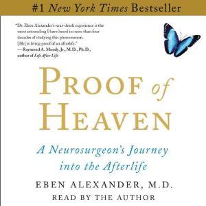Proof of Heaven audiobook cover art