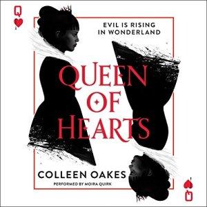Queen of Hearts audiobook cover art