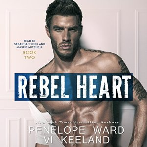 Rebel Heart audiobook cover art