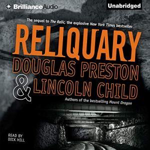 Reliquary audiobook cover art