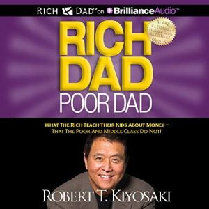Rich Dad Poor Dad audiobook cover art