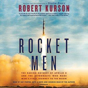 Rocket Men audiobook cover art