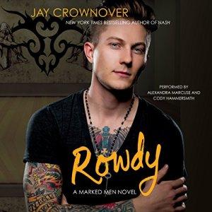 Rowdy audiobook cover art