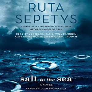 Salt to the Sea audiobook cover art
