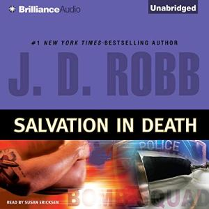 Salvation in Death audiobook cover art