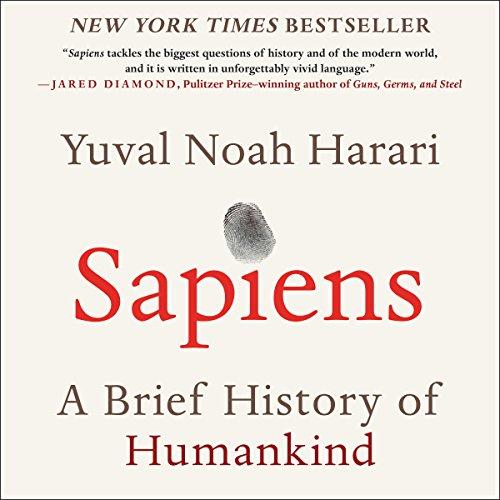 Sapiens audiobook cover art