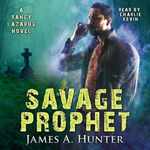 Savage Prophet audiobook cover art