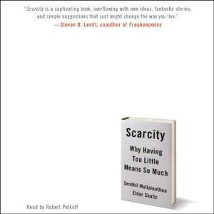 Scarcity audiobook cover art