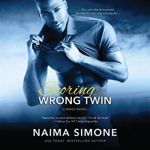 Scoring with the Wrong Twin audiobook cover art