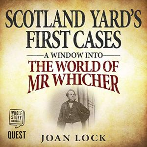 Scotland Yard's First Cases audiobook cover art