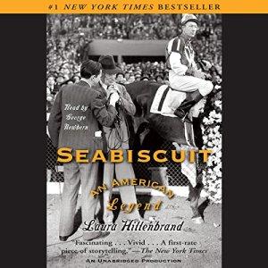 Seabiscuit audiobook cover art