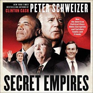 Secret Empires audiobook cover art