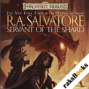 Servant of the Shard audiobook cover art