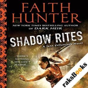 Shadow Rites audiobook cover art